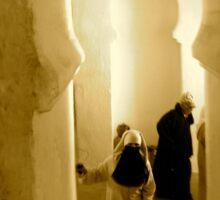 Morocco Mulai Idris Mosque Sticker