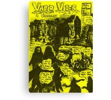 Vapid Vices: Sique Flavour Canvas Print