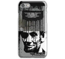 abraham lincoln iPhone Case/Skin