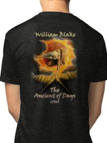 William BLAKE, GOD, BLAKE, Ancient of Days, Artist, English poet, painter, printmaker Tri-blend T-Shirt