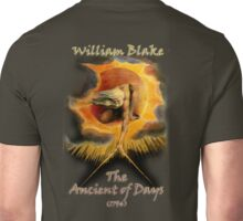 William BLAKE, GOD, BLAKE, Ancient of Days, Artist, English poet, painter, printmaker Unisex T-Shirt
