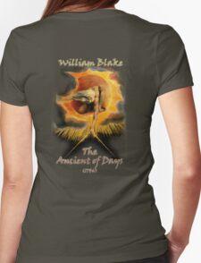 William BLAKE, GOD, BLAKE, Ancient of Days, Artist, English poet, painter, printmaker Womens Fitted T-Shirt