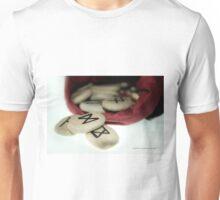Dagaz on Mannaz © Vicki Ferrari Unisex T-Shirt