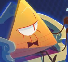 Bill Cipher [Gravity Falls] Sticker