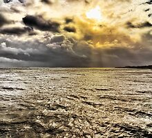 Bristol Channel from Penarth Pier by Gordon Maclaren
