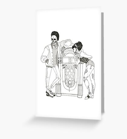 The Monster Mash Greeting Card