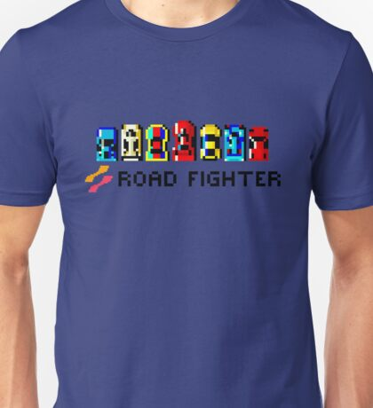 ROAD FIGHTER - 80s CLASSIC ARCADE GAME Unisex T-Shirt