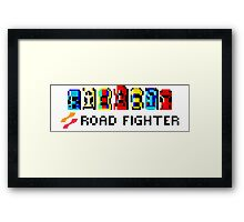 ROAD FIGHTER - 80s CLASSIC ARCADE GAME Framed Print