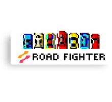 ROAD FIGHTER - 80s CLASSIC ARCADE GAME Canvas Print