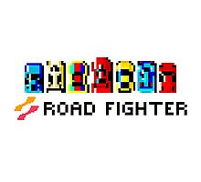 ROAD FIGHTER - 80s CLASSIC ARCADE GAME Photographic Print