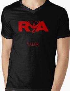Team Valor RVA with Team Name Mens V-Neck T-Shirt