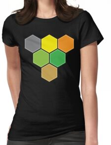 V for VICTORY (CATAN) Womens Fitted T-Shirt