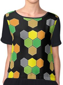 V for VICTORY (CATAN) Chiffon Top