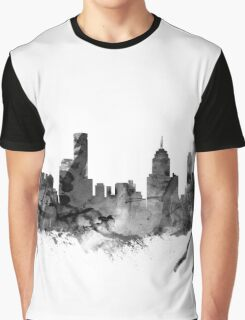 Melbourne Skyline Graphic T-Shirt