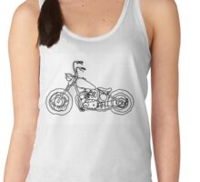 Triumph Chopper, Project 650, Bobber Women's Tank Top