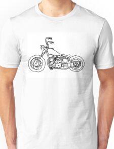 Triumph Chopper, Project 650, Bobber Unisex T-Shirt