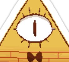Pixel Bill Cipher - Sticker 1 Sticker