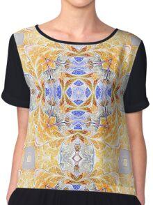 Mandala of Peace - Abstract Fractal Artwork Chiffon Top