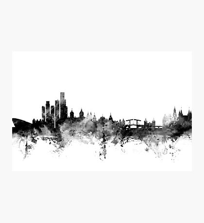 Amsterdam The Netherlands Skyline Photographic Print