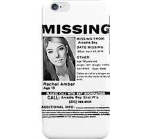 Rachel Amber iPhone Case/Skin