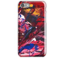 Red Vision iPhone Case/Skin