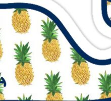 Vineyard Vines Pineapple Pattern Sticker