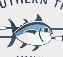 Southern Tide Skipjack Light Gray Sticker Sticker