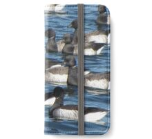 Convoy of Brant geese iPhone Wallet/Case/Skin