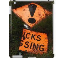 Trucks Crossing  iPad Case/Skin