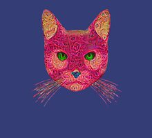 Rose Hungry Cat Unisex T-Shirt