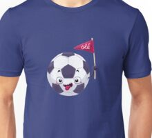 Football Face Unisex T-Shirt