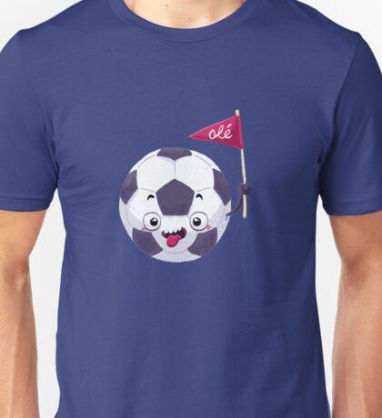 Football Face Unisex T-Shirt
