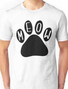 Cat Paw Meow Unisex T-Shirt