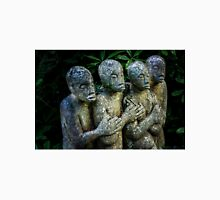 4 linked stone figures Unisex T-Shirt