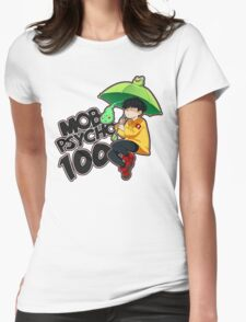 Mob Psycho 100 - Umbrella Frog Womens Fitted T-Shirt