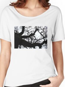 Tree Branch Silhouette 2 Women's Relaxed Fit T-Shirt