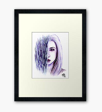 Illuminance Framed Print