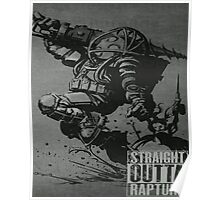 Bioshock Comic Game Big Daddy T Shirt/Phone etc Most Popular Poster