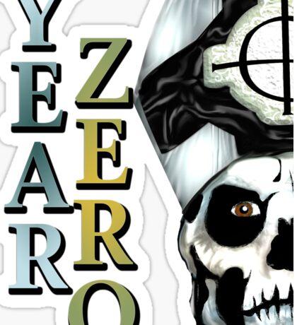 YEAR ZERO Sticker