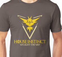 House Instinct (GOT + Pokemon GO) Unisex T-Shirt