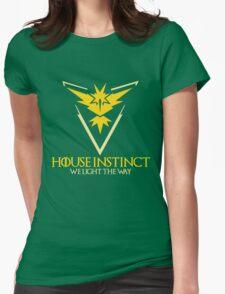 House Instinct (GOT + Pokemon GO) Womens Fitted T-Shirt