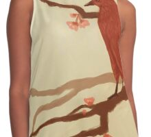 Red bird Contrast Tank