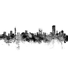 Pretoria South Africa Skyline Photographic Print