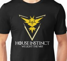 House Instinct (GOT + Pokemon GO) White vers. Unisex T-Shirt