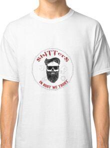 Shitters Beard Man Hold My Beer Classic T-Shirt