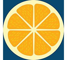 Yellow Lemon Graphic Design  Photographic Print