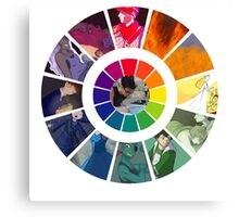 Colors Wheel Challenge Canvas Print
