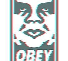 OBEY 3D by hipsterside