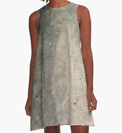 Concrete A-Line Dress