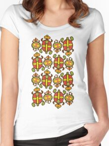 Fabulous Turtles Women's Fitted Scoop T-Shirt